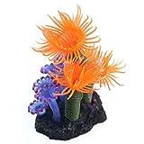 SUPPION Eco-friendly Resin Artificial Coral Soft Plants for Fish Tank Aquarium Decoration