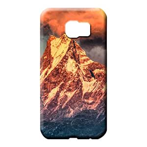 samsung galaxy s6 phone back shell Shock Absorbent Shock-dirt style awesome himalayan sunset