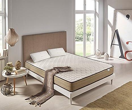 Materassi Soia Memory Prezzi.Zeng Materasso Memory Foam Viscoelastico Bamboo Confort 135x190cm