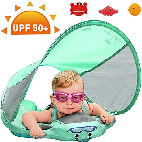 PRESELF Baby Solid Float with Canopy Safety
