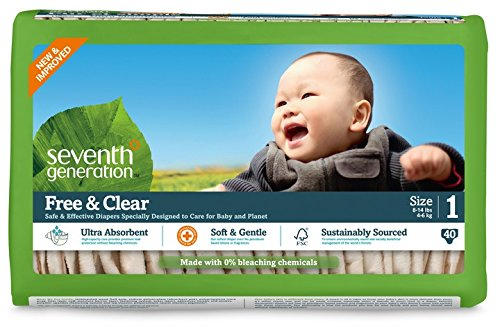 Seventh Unbleached Generation Free & Clear, Unbleached Diapers, Diapers, Size 80 1, 80 Count, Packaging May Vary by Seventh Generation B008CO5ZD8, 着物 卸直営店 京都マルヒサ:58b89c75 --- ijpba.info