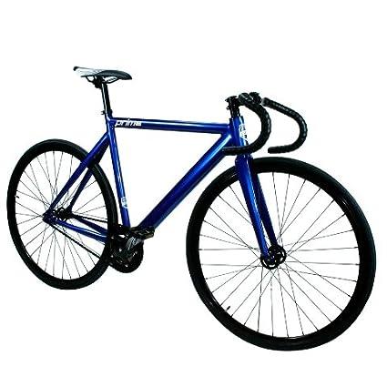 Amazon.com : Zycle Fix ZFPRAL-ANBL-55 Prime Alloy Fixed Gear Bike ...