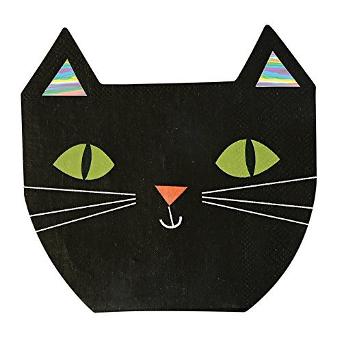 [Halloween Party Supplies Halloween Decorations Ideas Paper Napkins Cat Pak of 32] (Halloween Decorations Ideas)