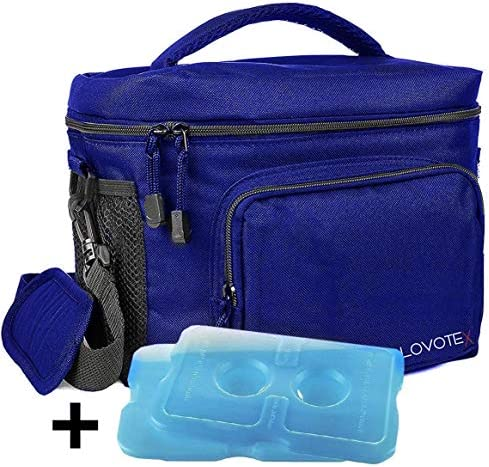 Insulated Reusable Detachable Compartments Containers