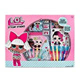 L.O.L. Surprise! Stylin' Studio by Horizon Group Usa, Create LOL Surprise Paper Dolls, DIY Activity Books, Scratch Art, Sticker Sheet, Coloring Pages, Markers, Crayons & More (Renewed)