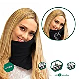 Best Travel Pillows Blacks - Kmoddity Siesta Neck Support Airplane Pillow with Chin Review