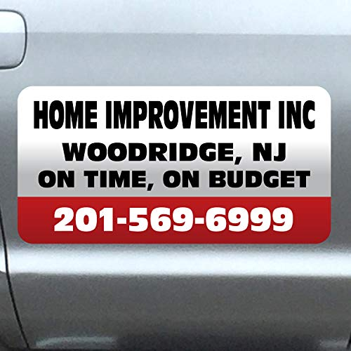 Vehicle Magnets sign With Custom Lettering 12