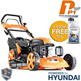 Hyundai Engine P1PE P5100SPE 173cc Petrol Lawnmowers Self Propelled Electric Start 20 Inch 51...