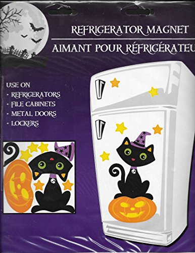Halloween Magnet Ghost or Witch for Your Refrigerator, Car, Mailbox, or Locker