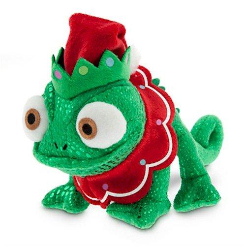 Disney Pascal Plush - Tangled - Holiday - Mini Bean Bag -...