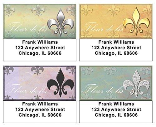 Fleur De Lis Address Labels (Classic Fleur De Lis Address Labels)