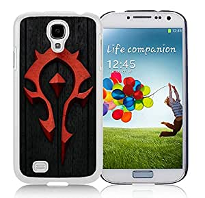 Best Buy world of warcraft Unique Custom White Case For Samsung Galaxy S4 Case