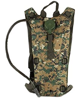 874ee14218b3 Amazon.com : MFH Hydration Bladder and Carrier MOLLE Czech Woodland ...