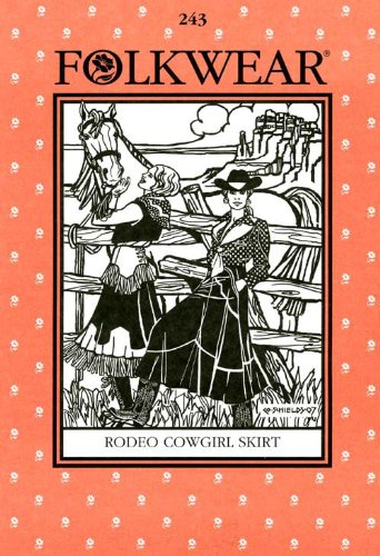 Patterns - Folkwear #243 Rodeo Cowgirl - Rodeo Drive Stores
