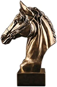 ShiSyan Y-LKUN Madaochenggong Office Desktop Accessories Decoration Creative Business Gifts Horse Ornaments Package Pure Copper 28.5 12.5 43cm Stylish and Beautiful