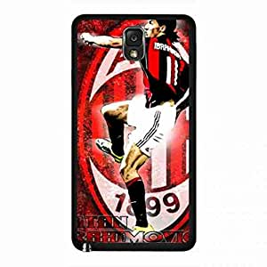 AC Milan Logo Cover,Serie A Football Club Cover,Associazione Calcio Milan Logo Snap-On Cover For Samsung Galaxy Note 3