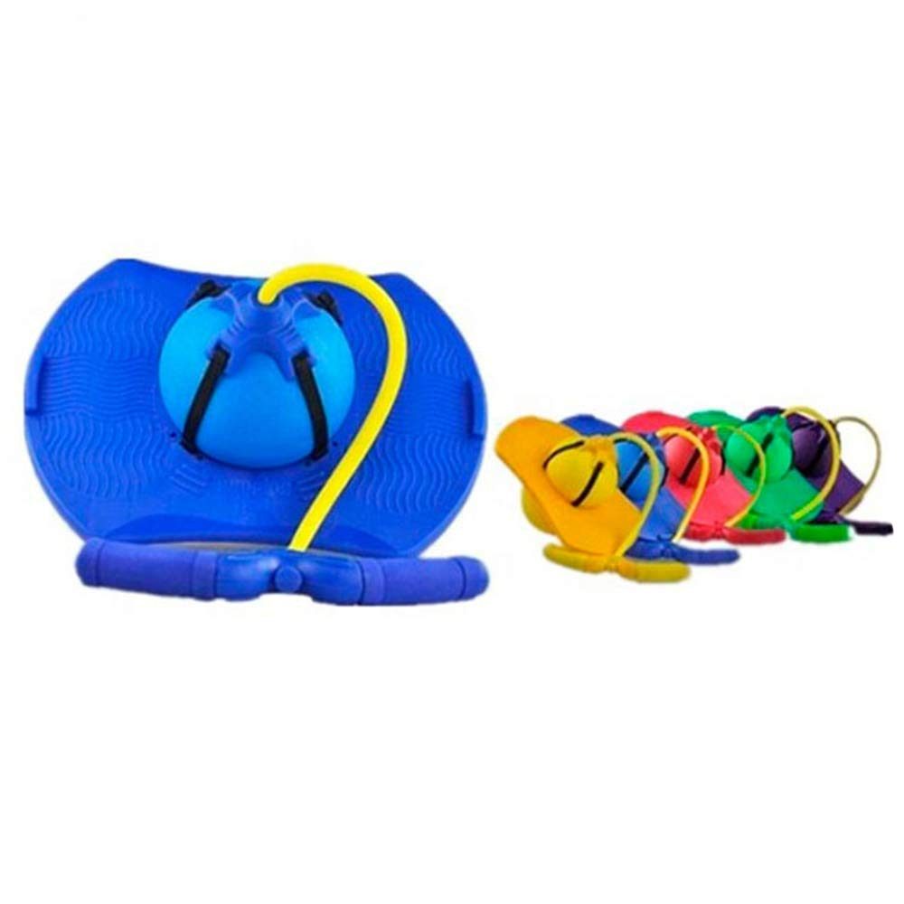 Mengsi Balance Pogo Jumping Exercise Bounce Space Fitness Ball for Kids Adults Fitness Ball Equipment Toy,Blue by Mengsi (Image #4)
