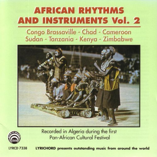 African Rhythms & Instruments: Vol (Tanzania Instruments)