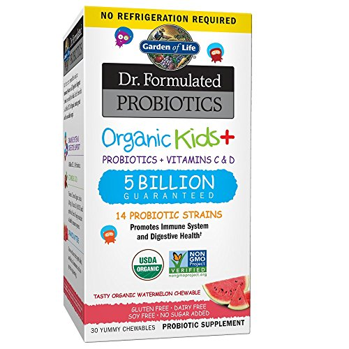 Garden of Life Probiotics, Dr. Formulated Organic Probiotics