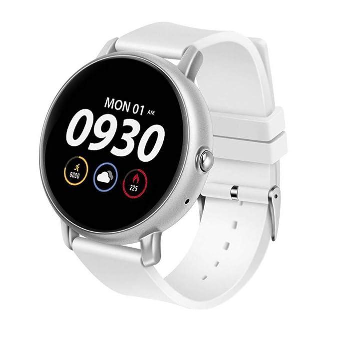FJTYG Reloj Inteligente Monitor De Ritmo Cardíaco Rastreador ...