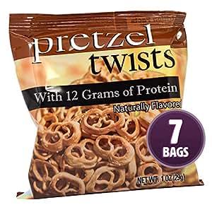 Amazon Com Weight Loss Systems Protein Pretzels Pretzel