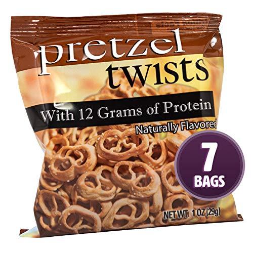 (Weight Loss Systems Protein Pretzels - Pretzel Twists (7 Bags) - Low Calorie - Low Fat - Low Carb - High Fiber - Kosher)