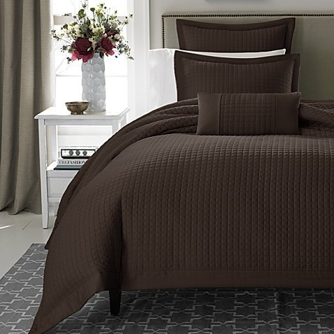 Lowest Price! Keeco Real Simple Retreat Duvet Cover, King, Chocolate