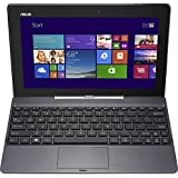 Asus Transformer Book T100TA-C1-GR-B 10.1-Inch Laptop (Certified Refurbished)