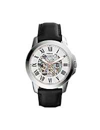 Fossil Men's ME3101 Analog Display Automatic Self Wind Black Watch