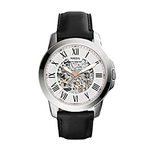 Fossil Grant Analog Silver Dial Men's Watch – ME3101