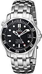 Omega Men's 212.30.36.20.01.001 Seamaster 300M Chrono Diver Black Dial Watch