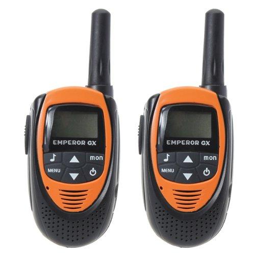 T-228 0.5W 20 Channels Backlit LCD Screen Walkie Talkie Orange