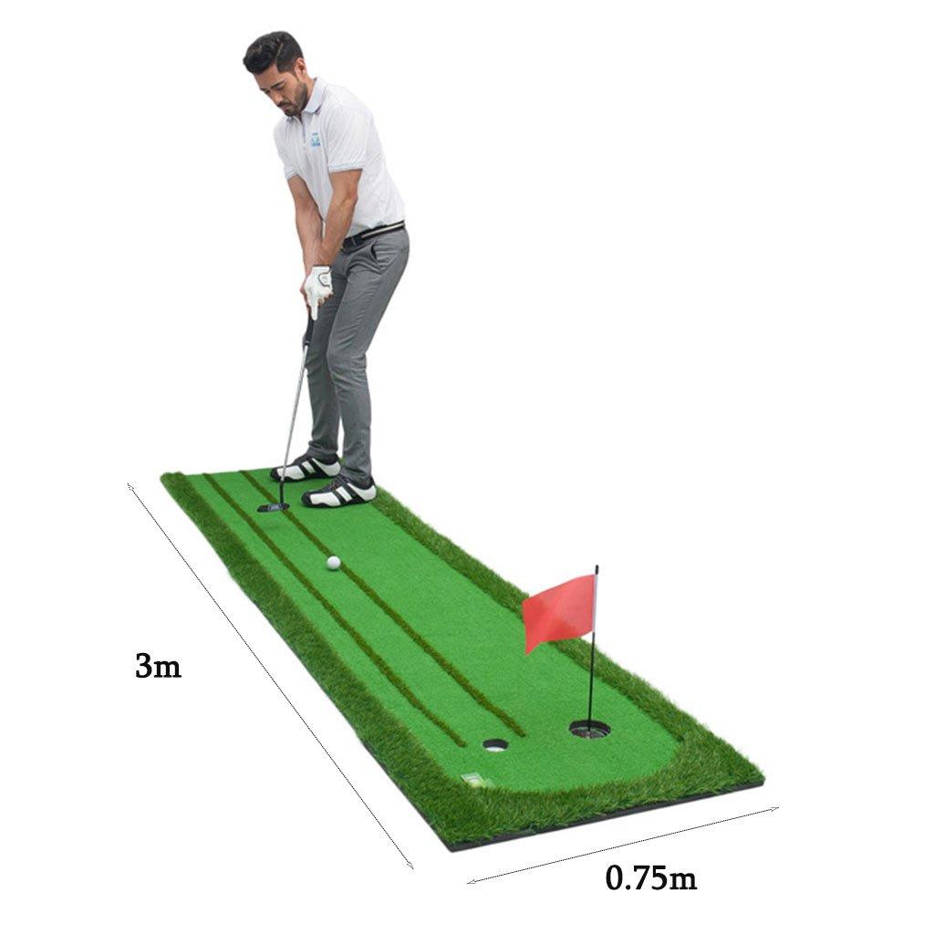LEI ZE JUN UK- Golf Putting Practice Inicio Indoor Green ...