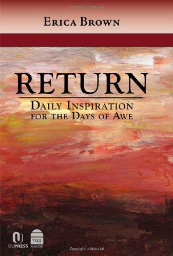 Download Return: Daily Inspiration for the Days of Awe PDF
