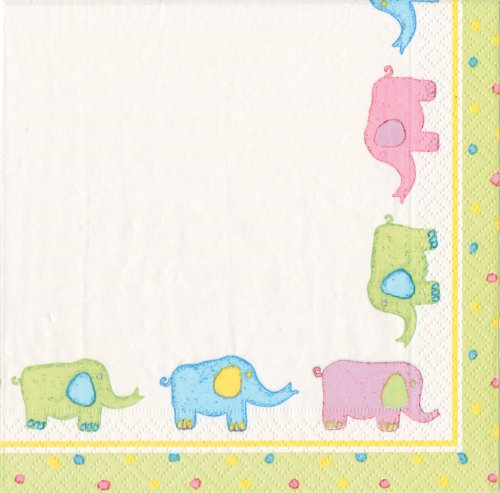 y Quilt Lunch Napkin Packages; 40 napkins total ()