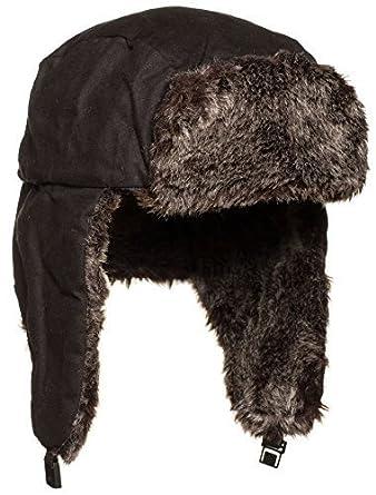 énorme inventaire vente de sortie style top VIZ Bonnet de trappeur pour homme bonnet pour homme, marron ...