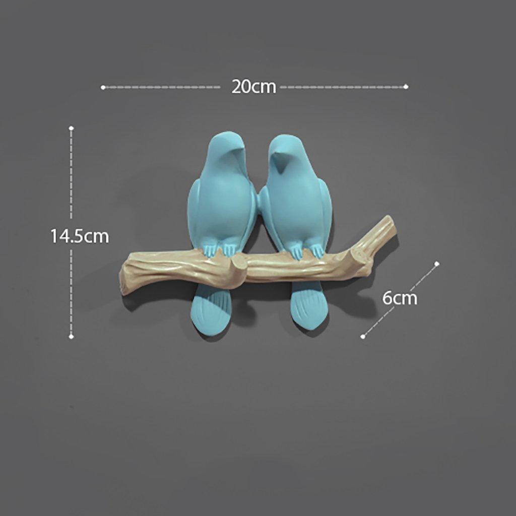 marca 20614.5cm 20614.5cm 20614.5cm LXSnail Perchero Estilo Simple Fresh Three-Dimensional Bird Coat Gancho (Tamaño   20  6  14.5cm)  El ultimo 2018