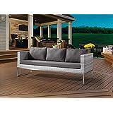 Velago 35372 Capriasca Outdoor Sofa, Grey