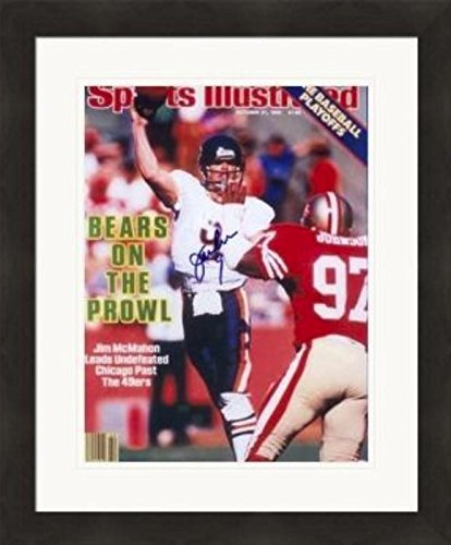 952865f99 Image Unavailable. Image not available for. Color  Jim McMahon autographed  Magazine Cover framed matted (Chicago Bears)  SC14 - Autographed NFL
