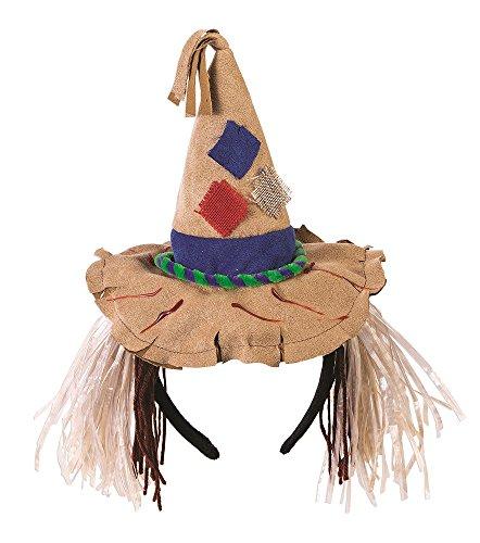 Forum Novelties Unisex-Adults Scarecrow Headband, Brown, Standard
