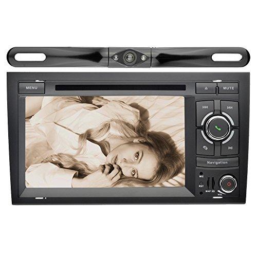 Audi Navigation,YINUO 2 Din Capacitive Touchscreen Car St...