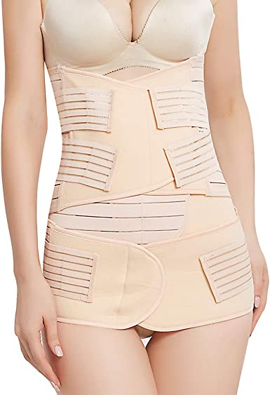 3 in 1 Postpartum Support Recovery Belt Waist//Pelvis Suit Postnatal Wrap Shaper