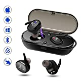 Wireless Earbuds, SOVACAM Mini Bluetooth Earbuds w/Mic 500mAh Charge Case iOS/Android/Windows Bluetooth Devices,IPX7 Waterproof Ture Wireless Sport Earphones Runner/Sporter