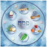 20 Paper Napkins for Passover by Cazenove, Text in English and Hebrew