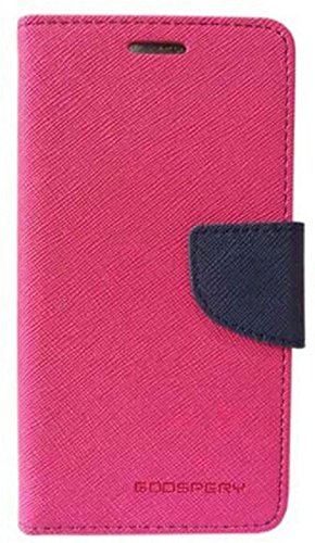 Exoic81 Wallet Flip Cover for Sony Xperia C5 Ultra Dual   Pink