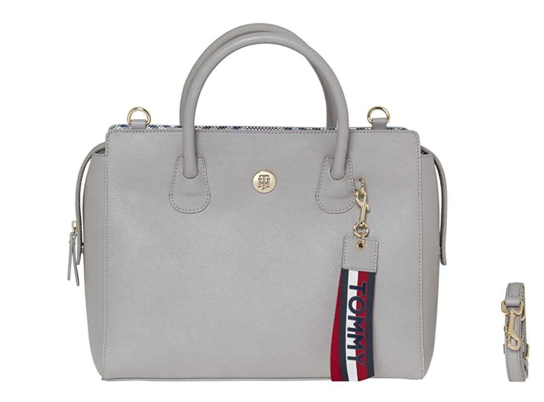 Tommy Hilfiger Charming Tommy Sac à Main Gris AW0AW05673-903