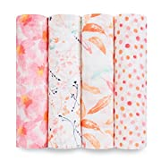 Aden + Anais Swaddle 4 Pack, Petal Blooms