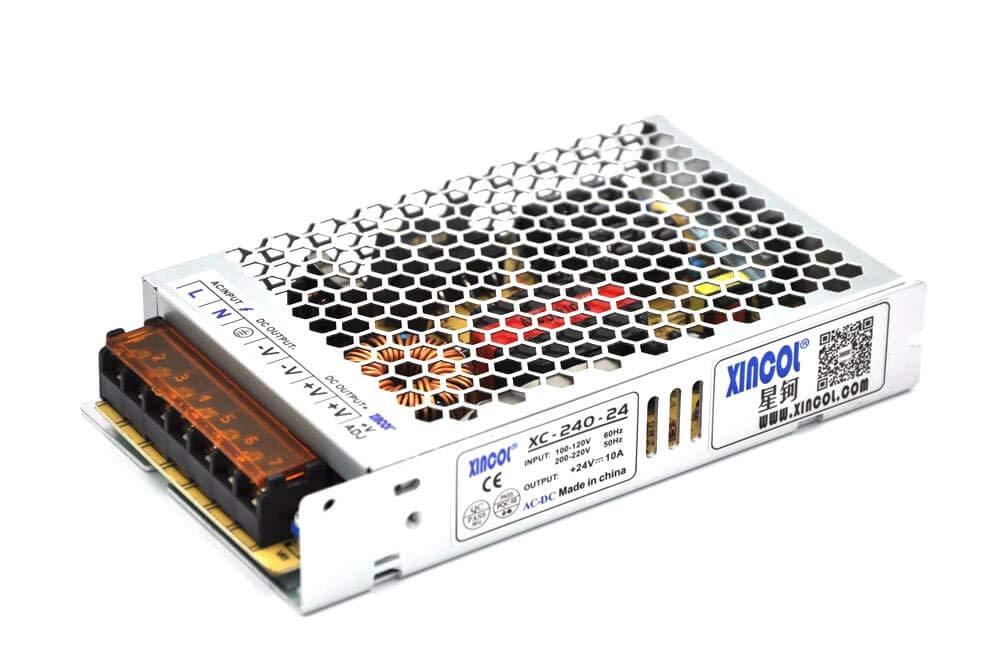 XINCOL - Fuente de alimentación ultrafina AC110V/AC220V a DC24V ...