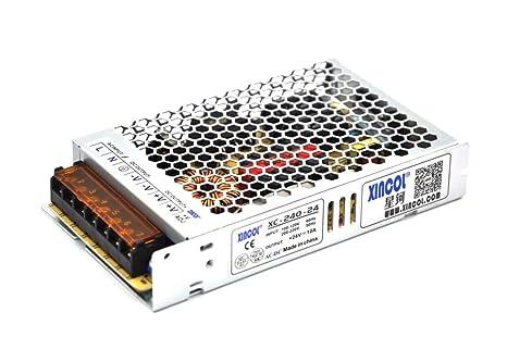 XINCOL - Fuente de alimentación ultrafina AC110V/AC220V a ...