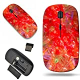 1000 baloons - Luxlady Wireless Mouse Travel 2.4G Wireless Mice with USB Receiver, 1000 DPI for notebook, pc, laptop, macdesign IMAGE ID: 26158184 Colorful flowers maden of baloons background